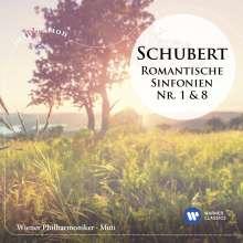 Franz Schubert (1797-1828): Symphonien Nr.1 & 8, CD