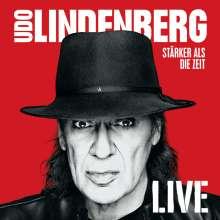 Udo Lindenberg: Stärker als die Zeit - Live, 3 CDs