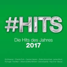 #Hits 2017 - Die Hits des Jahres, 2 CDs