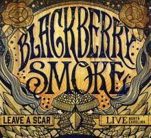 Blackberry Smoke: Leave A Scar: Live In North Carolina, 2 CDs und 1 DVD