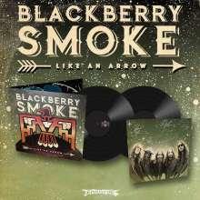Blackberry Smoke: Like An Arrow (+ gedruckte Autogrammkarte), 2 LPs
