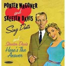 Porter Wagoner & Skeeter Davis: Sing Duets/Here's The Answer, CD