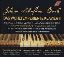 Johann Sebastian Bach (1685-1750): Das Wohltemperierte Klavier 2 für Orgel, Klavier & Cembalo, 2 CDs