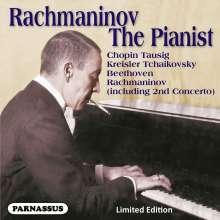 Sergej Rachmaninoff - Rachmaninoff the Pianist, CD