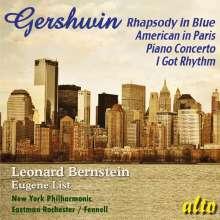 George Gershwin (1898-1937): Rhapsody in  Blue, CD