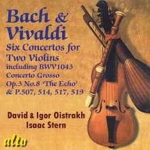 Antonio Vivaldi (1678-1741): Konzerte für 2 Violinen RV 509,512,514,517,522, CD