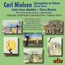 Carl Nielsen (1865-1931): Aladdin-Suite, CD