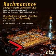 Sergej Rachmaninoff (1873-1943): Liturgie des Hl.Joh.Chrysostomus op.31, CD