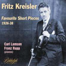 Fritz Kreisler - Favourite Short Pieces, CD