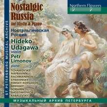 Hideko Udagawa - Nostalgic Russia, CD