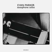 Evan Parker (geb. 1944): Saxophone Solos, LP