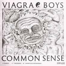 """Viagra Boys: Common Sense EP (Blue Vinyl), Single 12"""""""