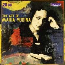 Maria Yudina - The Art of Maria Yudina, 26 CDs