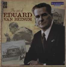 Eduard von Beinum - The Art of Eduard van Beinum , 40 CDs