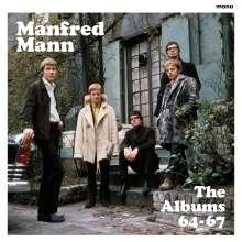 Manfred Mann: The Albums 64-67 (180g) (Box-Set) (mono), 4 LPs und 1 DVD