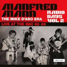 Manfred Mann: Radio Days Vol 2 - Live At The BBC 66-69 (The Mike D'Abo Era), 2 CDs