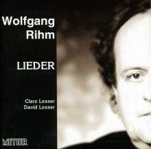 Wolfgang Rihm (geb. 1952): Lieder für Sopran & Klavier, CD