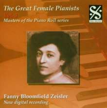 Piano Roll Recordings - Fanny Bloomfield Zeisler, CD
