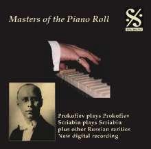 Piano Roll Recordings - Prokofieff/Scriabin, CD