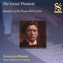 Piano Roll Recordings - Ferruccio Busoni, CD