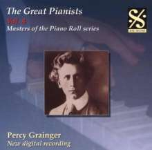 Piano Roll Recordings - Percy Grainger, CD