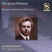 Piano Roll Recordings - Josef Hofmann, CD