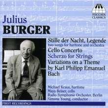 Julius Burger (1897-1995): Orchesterwerke, CD