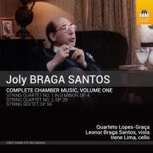 Joly Braga Santos (1924-1988): Sämtliche Kammermusik Vol.1, CD