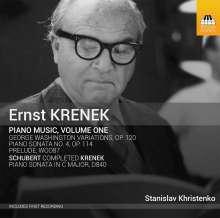 Ernst Krenek (1900-1991): Klavierwerke Vol.1, CD