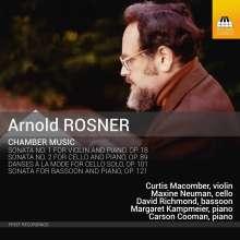 Arnold Rosner (1945-2013): Kammermusik, CD