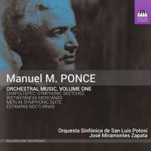 Manuel Maria Ponce (1882-1948): Orchesterwerke Vol.1, CD