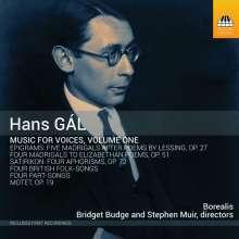 Hans Gal (1890-1987): Chorwerke Vol.1, CD