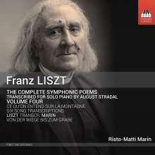 Franz Liszt (1811-1886): Symphonische Dichtungen für Klavier Vol.4, CD