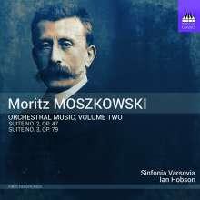 Moritz Moszkowski (1854-1925): Orchesterwerke Vol. 2, CD