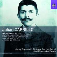 Julian Carrillo (1875-1965): Symphonie Nr.2, CD