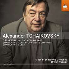 Alexander Tschaikowsky (geb. 1946): Orchesterwerke Vol.1, CD