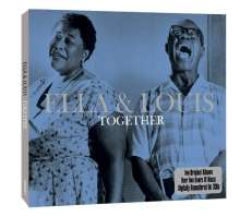 Louis Armstrong & Ella Fitzgerald: Together, 2 CDs
