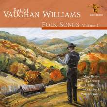 Ralph Vaughan Williams (1872-1958): Folk Songs Vol.1, CD