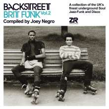 Backstreet Brit Funk Vol.2 Compiled By Joey Negro, 2 CDs