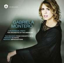 Gabriela Montero - Rachmaninoff / Montero, CD