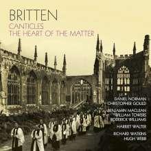 Benjamin Britten (1913-1976): Canticles opp.40,51,55,86,89, CD