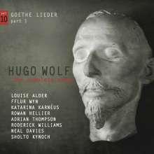 Hugo Wolf (1860-1903): Sämtliche Lieder Vol.10 (Goethe-Lieder Teil 1), CD