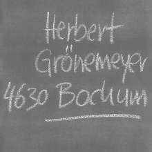 Herbert Grönemeyer: 4630 Bochum (Remastered), CD
