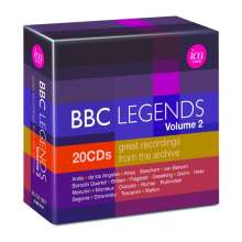 BBC Legends Vol.2, 20 CDs