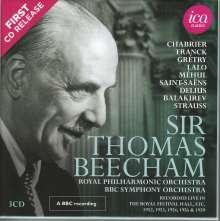Thomas Beecham dirigiert, 3 CDs