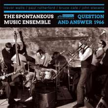 The Spontaneous Music Ensemble: Question And Answer 1966, 2 CDs
