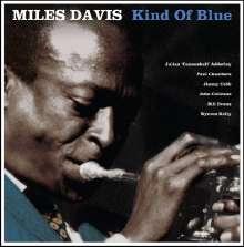 Miles Davis (1926-1991): Kind Of Blue (Limited Edition) (Blue Vinyl), LP