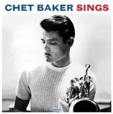 Chet Baker (1929-1988): Chet Baker Sings (180g) (Blue Vinyl), LP