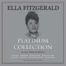 Ella Fitzgerald (1917-1996): Platinum Collection (White Vinyl), 3 LPs