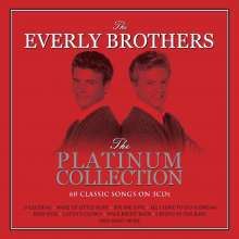 The Everly Brothers: Platinum Collection, 3 CDs